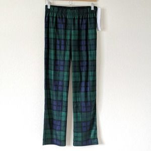 Old Navy Christmas Pajama Pants Green Plaid 18 XXL